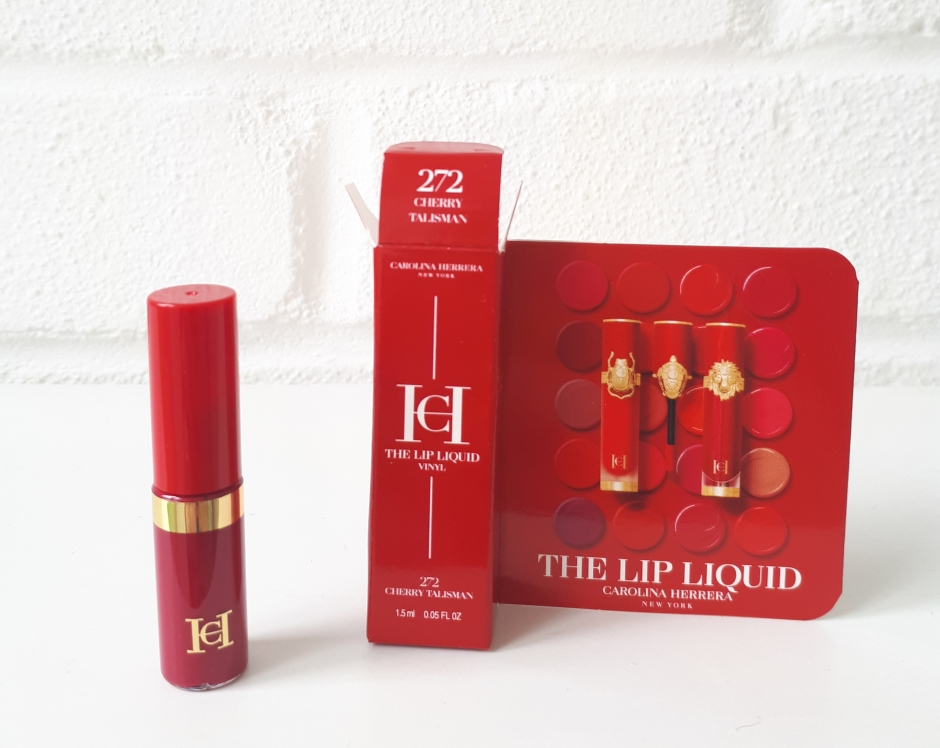 carolina herrera free lipstick