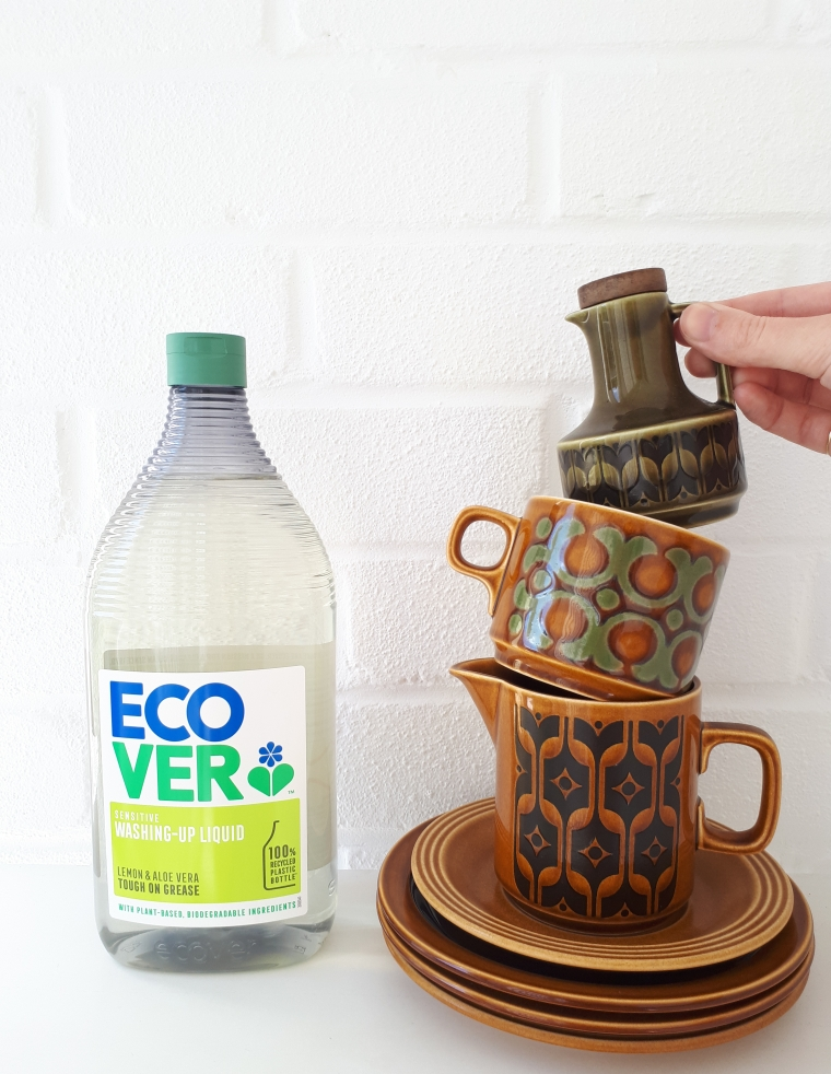 ecover washing up liquid review and vintage hornsea